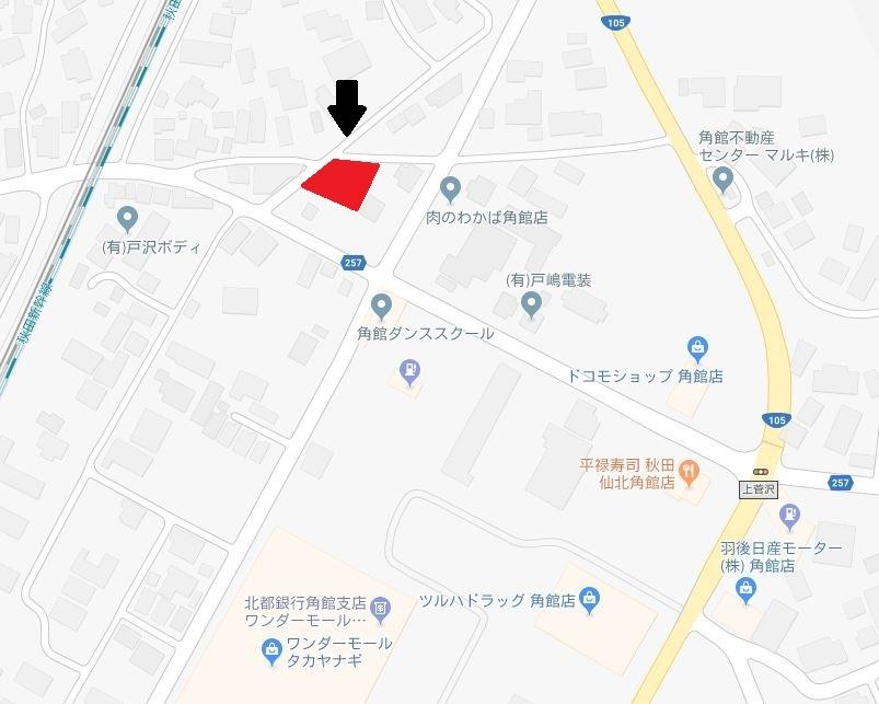 仙北市角館町上菅沢264-1